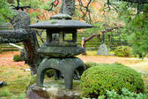 Granite lantern — Stock Photo