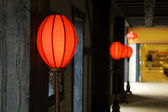 Antique lanterns — Stock Photo