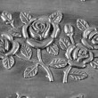 Stock Photo: Carved pattern of jewelry box