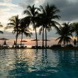 Stock Photo: Evening in tropical hotel