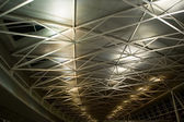 The ceiling of airport — Stock Photo