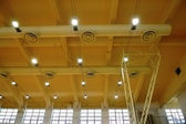 Architecture of stadium ceiling — Stockfoto