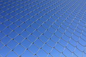 Isolated Rabitz wire netting — Stock Photo