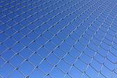 Isolated Rabitz wire netting — Stock Photo