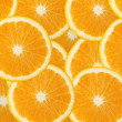 Juicy orange fruit background - Photo