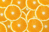 Juicy orange fruit background — Stock Photo