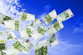 100 евро — Стоковое фото