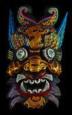 Máscara de tailândia — Fotografia Stock