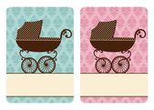 Prams — Stock Vector