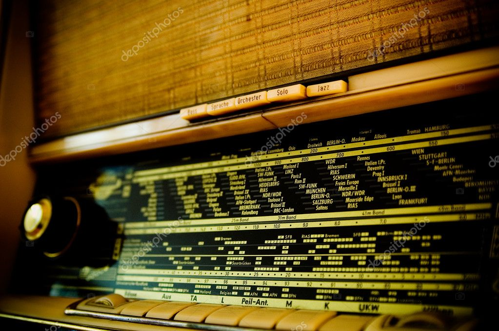 Detail of an old vintage radio. — Stock Photo #2951666