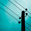Stock Photo: Small Pylon