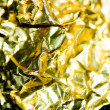 Golden Foil — Stock Photo