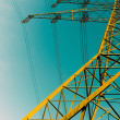 Golden Pylon — Stock Photo