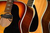 Piękne gitary — Zdjęcie stockowe
