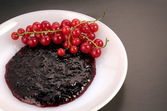 Red currant jam — Stock Photo