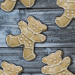Gingerbread bears — Stock Photo