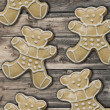 Gingerbread bears — Foto de Stock