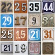 Street numbers — Stock Photo #3899490
