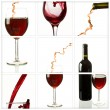 Wine collage — Stock Photo #3899510