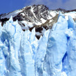 A closeup of Glacier Perito Moreno — Stockfoto