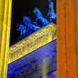 Closeup of the Brandenburger Tor Berlin — Stock Photo