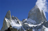 The peaks of Fitz roy — Stock Photo