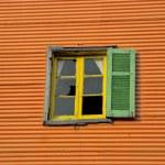 Broken Window on Caminito, Buenos Aire — Stock Photo #3115955