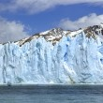 Perito Moreno Ice wall — Stock Photo
