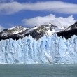 Stock Photo: Glacier Perito Moreno with Mountain rang