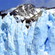 A closeup of Glacier Perito Moreno — Stock Photo