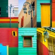 La Boca  Collection - Stock Photo