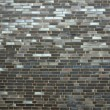 A dark brick wall — Stock Photo