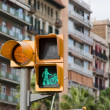 Pedestrian traffic light — Stock Photo