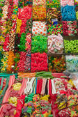 Colourful candies on a market — Stock Photo
