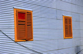 Windows in La Boca — Stock Photo