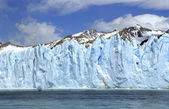 Perito Moreno Ice wall — Stock Photo