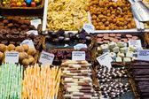 Chocolade en snoepgoed — Stockfoto