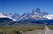 Fitz Roy and Cerro Torre — Stock Photo