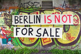 Berlin is not for sale — Stock Photo