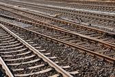 железнодорожные пути — Стоковое фото