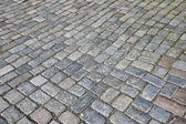 Cobble stone pavement — Stock Photo