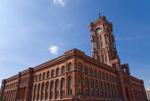 Townhall Rotes Rathaus in Berlin — Stock Photo