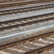 Royalty-Free Stock Photo: Some railroad tracks