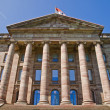 Palace Wilhelmshoehe in Kassel - Stock Photo