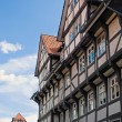 Beautiful half-timbered houses — Foto de Stock