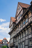 Beautiful half-timbered houses — Stock Photo