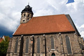 St. Blasius Church in Hann Muenden — 图库照片
