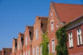 The dutch quarter in Potsdam — Stock Photo