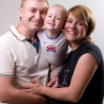 Family in hugs — Stock Photo #2753453