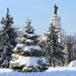 Stock Photo: All-RussiExhibition Centre winter